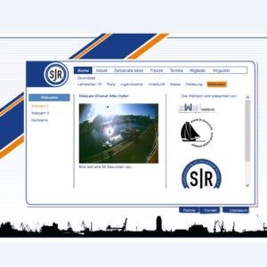 Webcam Wismar mit Blick über den Alten Hafen