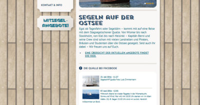 Webcam Wismar Alter Hafen - SS Qualle