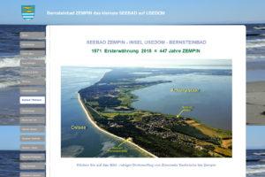 Webcams von Strand und Hafen in Zempin (Usedom)