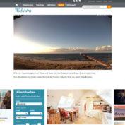 Webcam Zingst - Blick vom DLRG Rettungsturm auf den Strand